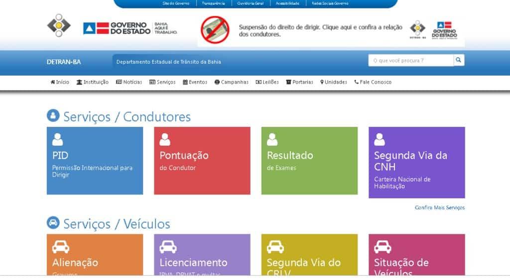 Consultar Veículo pelo Chassi na Bahia